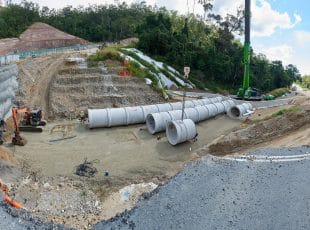 Eton Range Realignment Project – Drainage Works