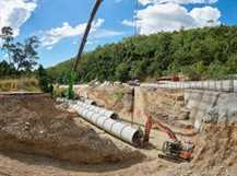Eton Range Realignment Project – Drainage Works