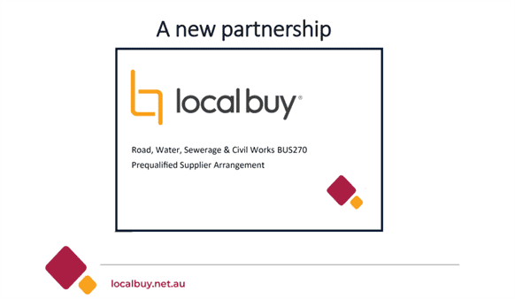 Supplier Arrangement with Localbuy